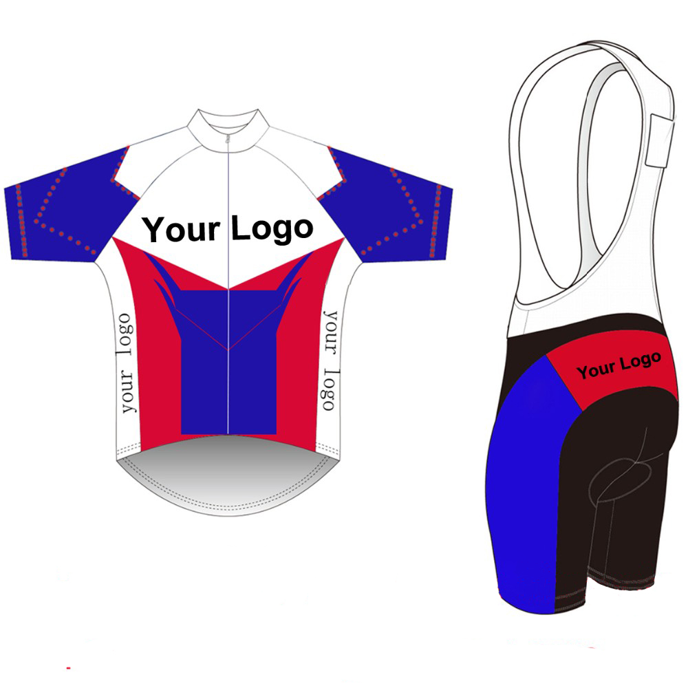 2017 Custom Cycling Jersey +BIB Shorts Summer Set DIY Bicycle Wear Polyester + LyCra Any Color Any Size Any Design Free shipping 2016 custom roupa ciclismo summer any color any size any design cycling jersey and diy bicycle wear polyester lycra cycling sets
