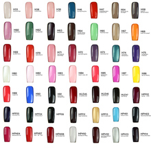 Nail Gel Polish High Quality Art Salon Tips 60 Hot Sale Color 15ml Soak off Organic UV LED