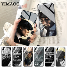 YIMAOC Peaky Blinders Tv Cute Tommy Shelby Glass Case for Huawei P10 lite P20 Pro P30 P Smart honor 7A 8X 9 10 Y6 Mate 20