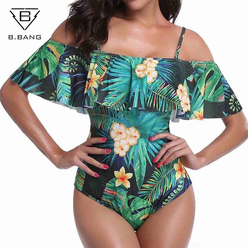 B.BANG Bikinis Women Swimsuit 2018 off Shoulder Bikini Set Bandage Beachwear Bathing suit Push Up Brazilian Swimwear Biquini sporlike bandage bikini set 2018 push up swimwear swimsuit bathing suit women dot bowknot bikinis women halter beachwear