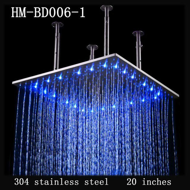 20 Inch Stainless Steel German Bathroom Faucets,Rain Shower Bath ...