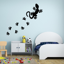 New arrival Gecko Wall Sticker Home Decor Decoration Children room wall stickers Removable Decals
