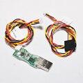 FrSky Cable USB, FrSky actualiza cable 3, para DFT/DJT/DHT, receptor y el centro del sensor de actualización