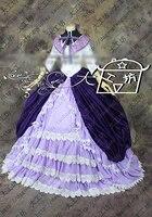 Puella Magi Madoka Magica Homura Akemi костюм для косплея костюм для хеллоуина костюм на заказ
