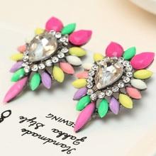 big Colorful earrings