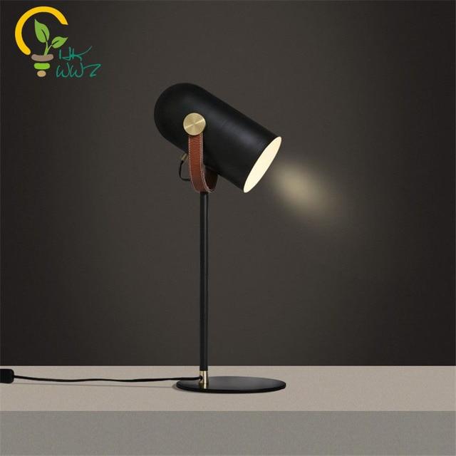 Moderne Kreative Led Tischlampe Eisen Schreibtisch Lampen Für Wohnzimmer  Raum Studie Lernen LED Neben Lampe Für