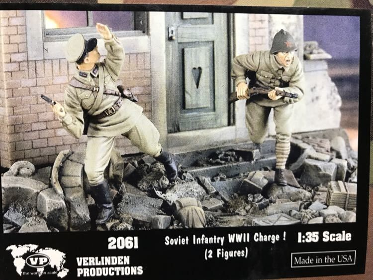 1:35 WWII The Soviet Team 358359 Unassambled High Quality Resin Kit 2 Figures