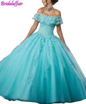 Women's Girls' Ball Gown Beads Prom Dress Lace Prom Gowns Sweet Elegant Evening Dresses vestidos de festa longo dress party - DISCOUNT ITEM  0% OFF All Category