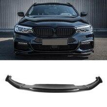 HA-M Style Mtech Sport Bumper Carbon fiber front Lip fit For BMW 5 Series G30 G31 G38 цена и фото