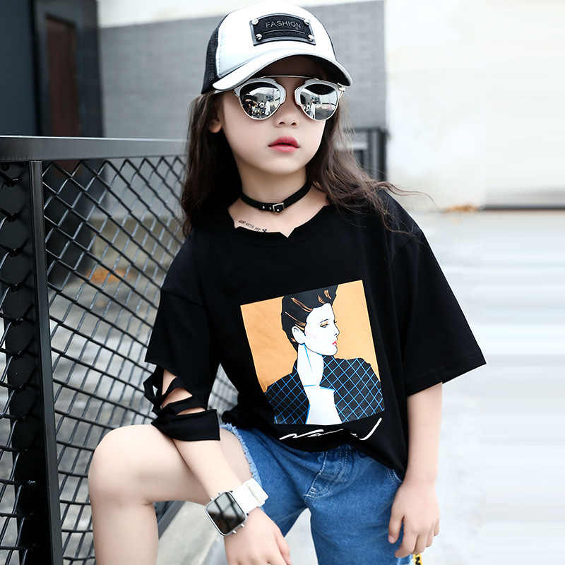 61f207d2b1240 Detail Feedback Questions about ZSIIBO urban girl T shirt 2019 ...