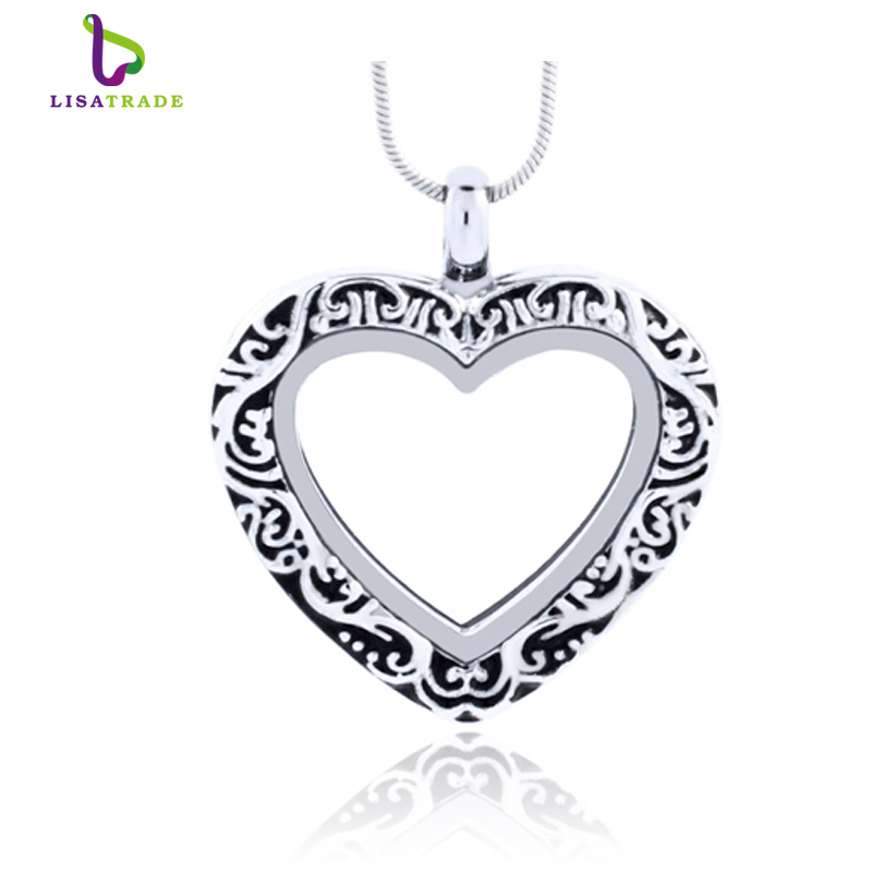 top necklaces jewelry wholesale fashion chains huwanny inch charms new lockets silver grade locket product photo from pendant diy floating arrival chain