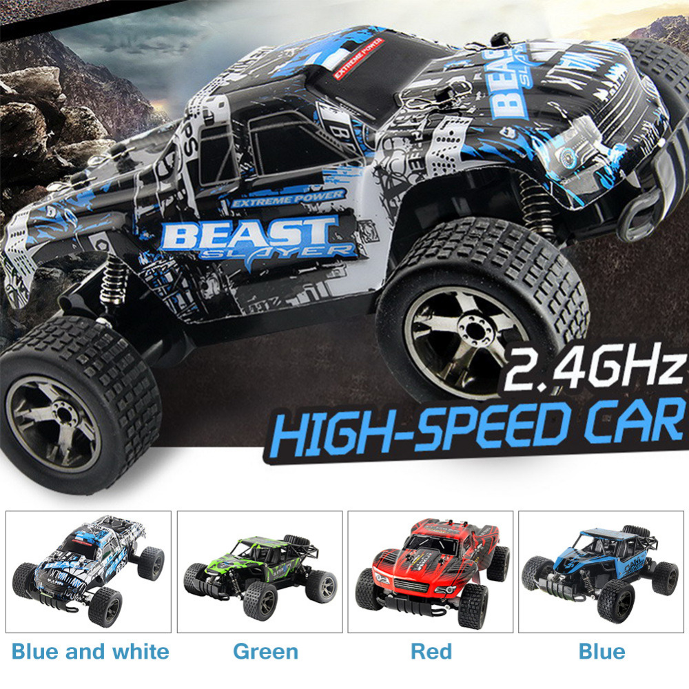 2.4G 1:20 Electric High Speed Remote Control Car Chargable Racing Off-road Electronic Children Toy boy gift