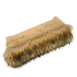 Image 2 - New Trim Faux Raccoons Fur Plush for O BAG Thermal Plush Decoration Fit for Classic Big Mini Obag