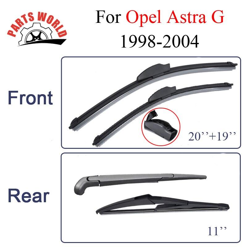 "NEW Vauxhall Astra H Estate 2004-2010 Front Pair Flat Aero Wiper Blades 22/""18/"""