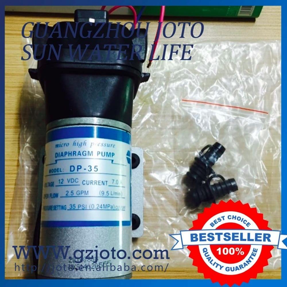 12v Water Diaphragm Pump 12L/min 3.5GPM 35PSI Caravan/RV/Boat/Marine/Sprayer все цены