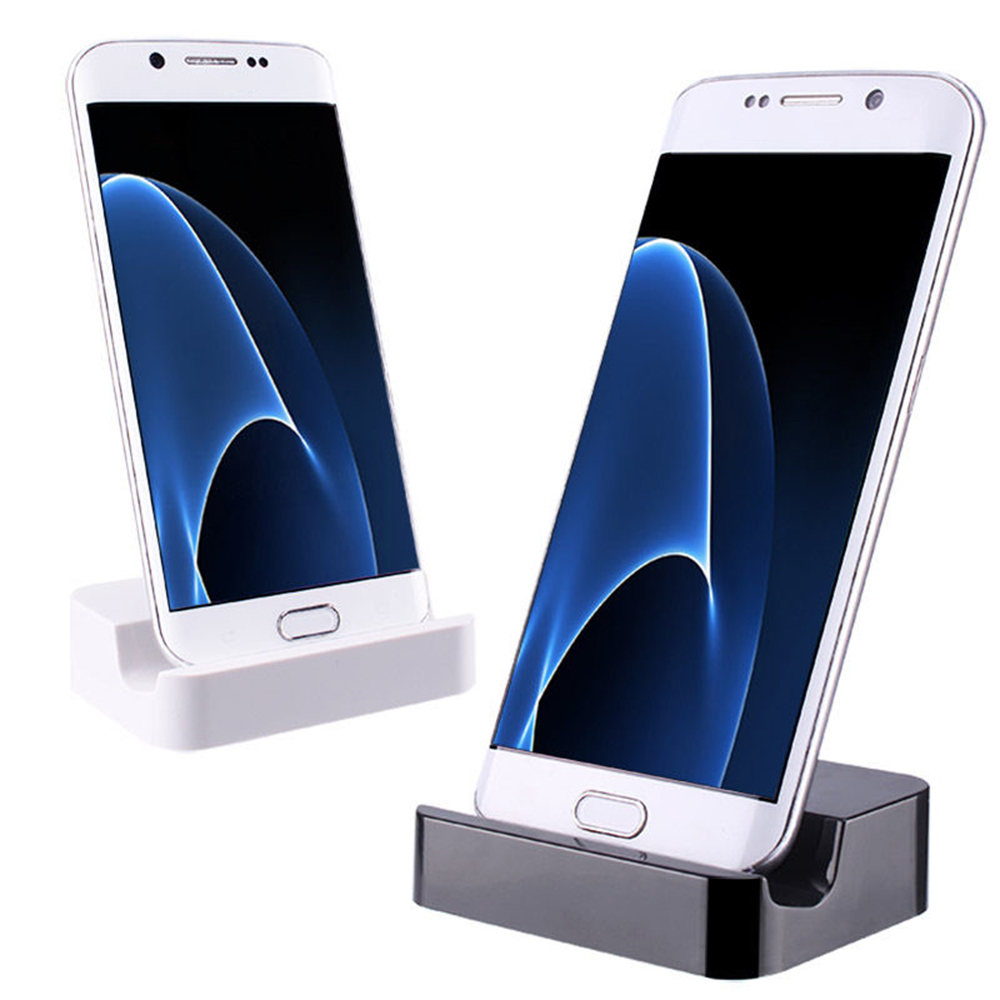 For Android Phones Samsung Huawei Micro USB Desktop Charging Dock Stand Charger