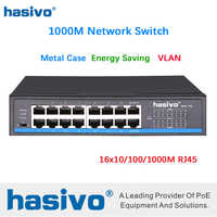 16 Port RJ45 All Gigabit Enthernet switch lan switch ethernet switch
