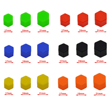 20 pieces of Silicone Car Wheel Hub, Screw Coher, Six Colors