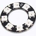 DC4-7V WS2812B 8-Bit RGB LED Ring 5050 Built-in RGB Driver for Arduino 32MM