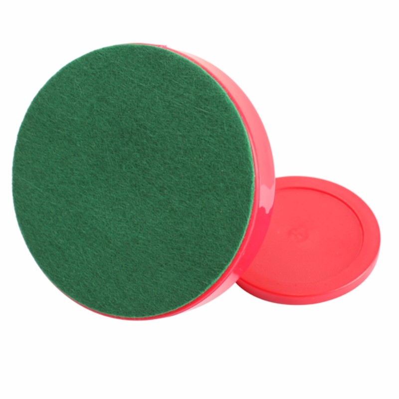 Details about  /Air Hockey Table Goalies with Puck Felt Pusher Mallet Grip Red Plastic JA
