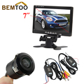 """BEMTOO High-definition 170 degree wide viewing angle Rear View Camera +7"""" TFT LCD Monitor + wireless adapter with a trigger line"""