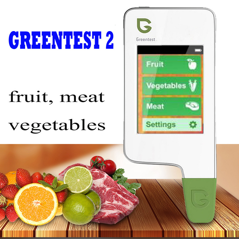 купить GREENTEST 2 Digital Food Nitrate Tester concentration meter, High Accuracy Fruit and Vegetable and meat Nitrate Detector по цене 7920.91 рублей