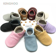 Детские кроватки обувь из натуральной кожи детские мокасины младенческие ботиночки для мальчиков и девочек