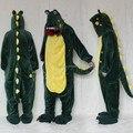 Crocodile Costume (no sliper included) for Adult Cartoon Animal Cosplay Onesies Pajamas Jumpsuit  Hoodies for Halloween