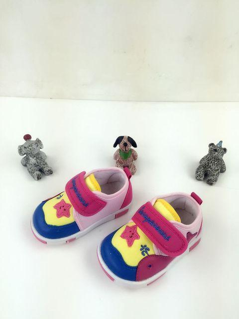 Recém-nascidos Tênis Fundo Macio Encantador Lace-Up Shallow Primeiro Walkers Algodão Sólida Primavera/Autumnfabric Sapatos Para Crianças Do Bebê sapatos