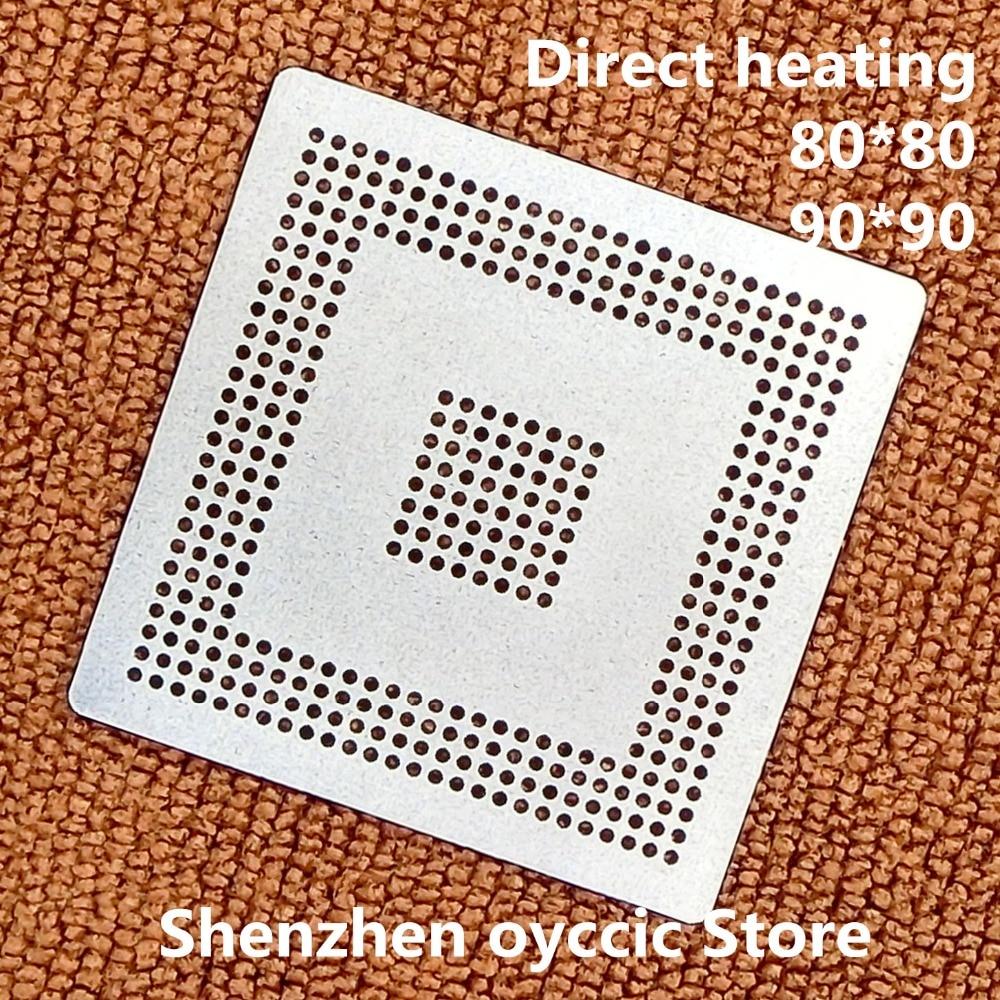 Direct heating  80*80 90*90  MPC5554MZP132 MPC5554MZP MPC5554  BGA  Stencil Template     Direct heating  80*80 90*90  MPC5554MZP132 MPC5554MZP MPC5554  BGA  Stencil Template