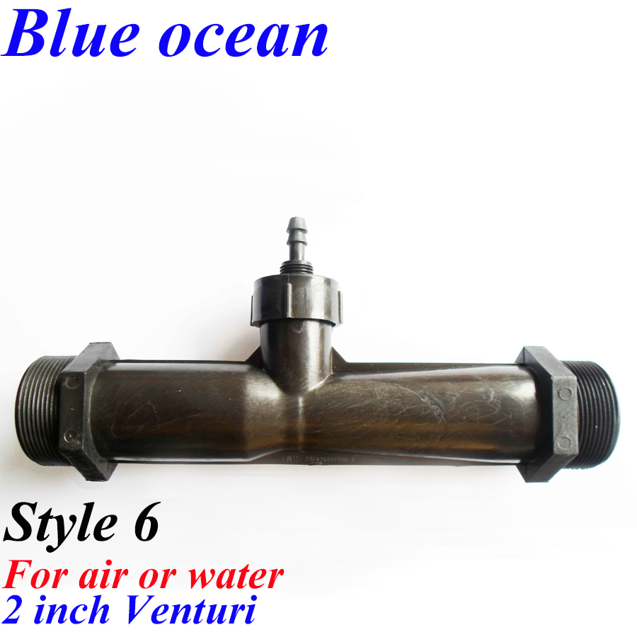 BO-0200V, Wholesale ozone resistance high effective gas water mixer ozone generator accessoriess water ozone Venturi Jet device blueocean bo 01gifts 2m air tube 8cm air stone venturi gas flow adjuster signature pen wiring diagram for ozone generator parts