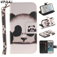 Colorful Wallet Case For Apple IPhone 5 5S SE Luxury PU Leather Soft Silicone Flip Stand