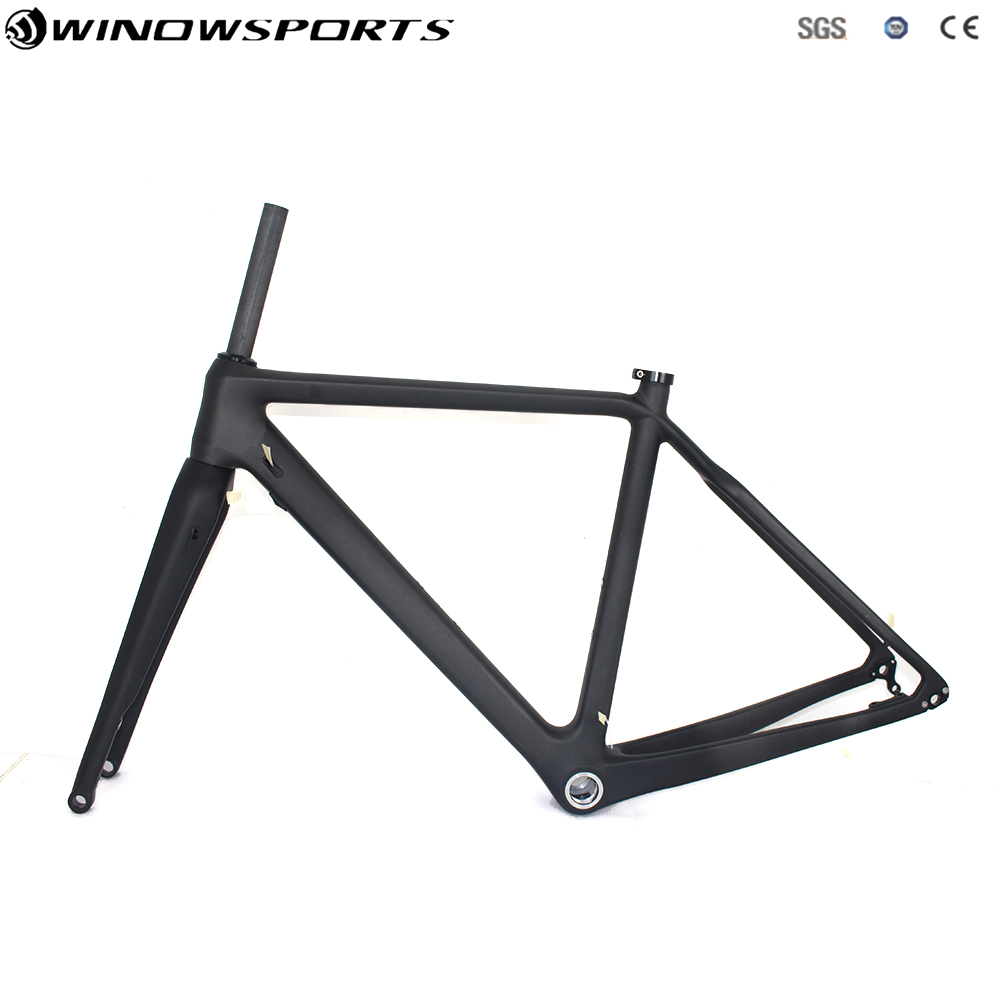 Carbon Cyclocross Bike Frame CXBicycle Frame Cyclocross Disc Frame With Thru Axle142*12 Cyclocross Bike Frameset