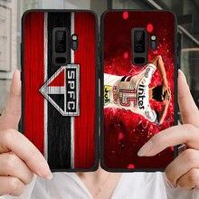 Yinuoda Phone Case Sao Paulo Futebol Clube Hernanes For Galaxy J2RIME J2Pro J4plus J6 Black Soft TPU Samsung A6 A7 A8A9