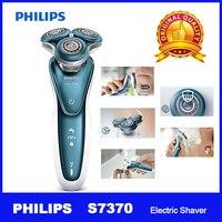 Professional Электробритва Philips S7370 с нежной точностью PRO лезвия SmartClick точность триммер влажной и сухой для мужчин's