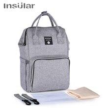 Insular Baby Diaper Backpack Bag Mummy Maternity Nappy Stroller Bag Large Capacity Baby Bag Travel Backpack Designer Nursing Bag