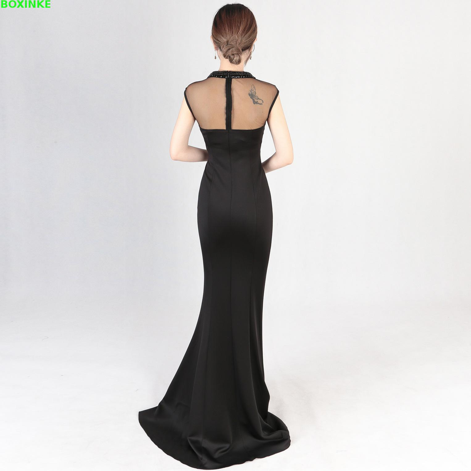 48b0eb290e5 Ukraine Mesh Zanzea Real Lanon Dress 2019 New Company Annual Meeting Show Fashion  Fish Tail Banquet Thin Hostess Women Long -in Dresses from Women s ...