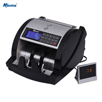 Nanxing NX 801B Money Counter UV/MG/MT/IR/DD Counterfeit Detection Automatic Cash Currency Counting Machine 1000 Bill Per Minute