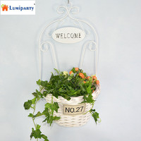 LumiParty Wall Hanging Basket Plant Hanger Flower Holders For Indoor And Outdoor Garden Planters Decor Wedding