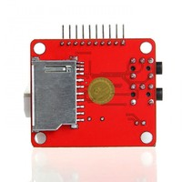 VS1053 Module VS1053 MP3 Module Development Board SD Card Decode Board Onboard Recording Function