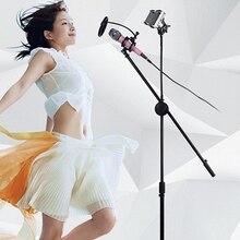 360 rotierenden boom arm mic mikrofon ständer halter stativ tablet telefon inhaber stehen für ipad einstellbare tablet ständer