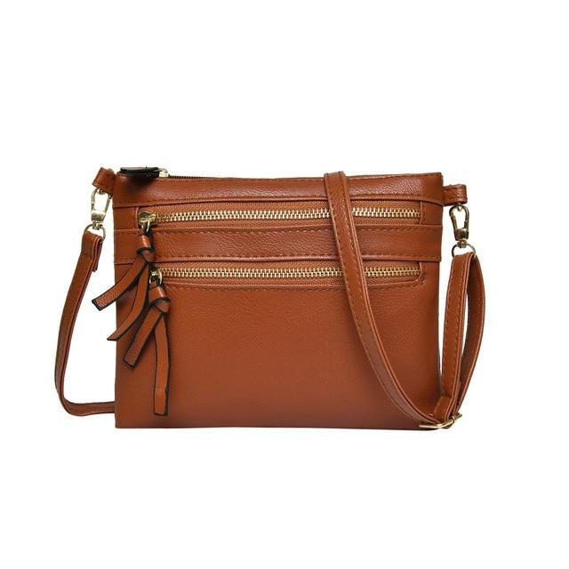 8a08a9200923 ladies hand bags Women Girl Fashion Leather Flap Pretty Litchi Pattern Crossbody  Shoulder Bag bolsos mujer