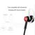 Beevo EM300 Auriculares Deportivos Estéreo con Control de Volumen del MICRÓFONO Gancho para la Oreja Desmontable Correr Auriculares HI-FI Auriculares de Reducción de Ruido