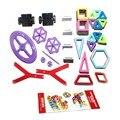 F17337 96 Шт. Модели и Строительство Игрушки Магнитные Пластиковые Кирпич Детей Игрушки детские Строительные Блоки Игрушки Монтажные Блоки Дизайнер
