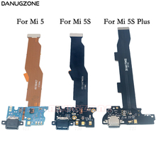 USB Charging Jack Plug Socket Connector Charge Dock Port Flex Cable With Microphone For Xiaomi Mi 5 5S Plus Mi 5 5S Plus