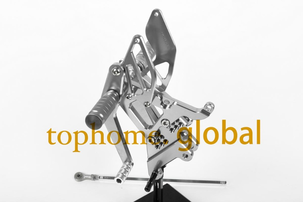 For Yamaha YZF R6 2006 - 2014 Grey CNC Rearsets Foot Pegs Rear Set motorcycle footpeg 2013 2012 2011 2010 2009 2008 2007  For Yamaha YZF R6 2006 - 2014 Grey CNC Rearsets Foot Pegs Rear Set motorcycle footpeg 2013 2012 2011 2010 2009 2008 2007