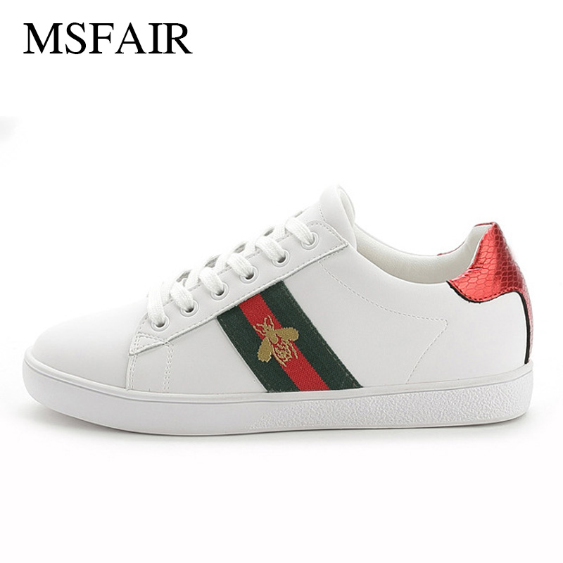 Msfair Women Men Skateboarding Shoes Woman athletic shoes Brand Outdoor Athletic Sport Shoes For Men Walking Womens Sneakers 2017brand sport mesh men running shoes athletic sneakers air breath increased within zapatillas deportivas trainers couple shoes