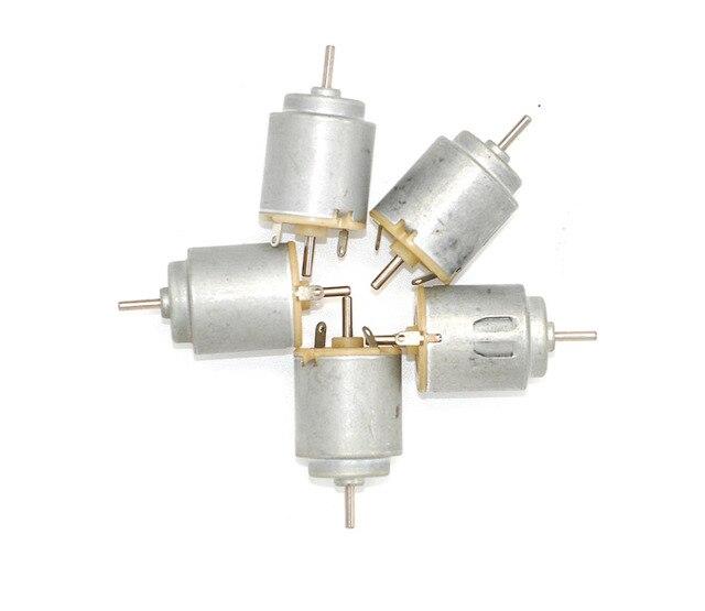 30 pièces/140 moteur à courant continu 21*25mm 3 v 11000 tr/min 0.08 un diamètre de 2mm d'essieu