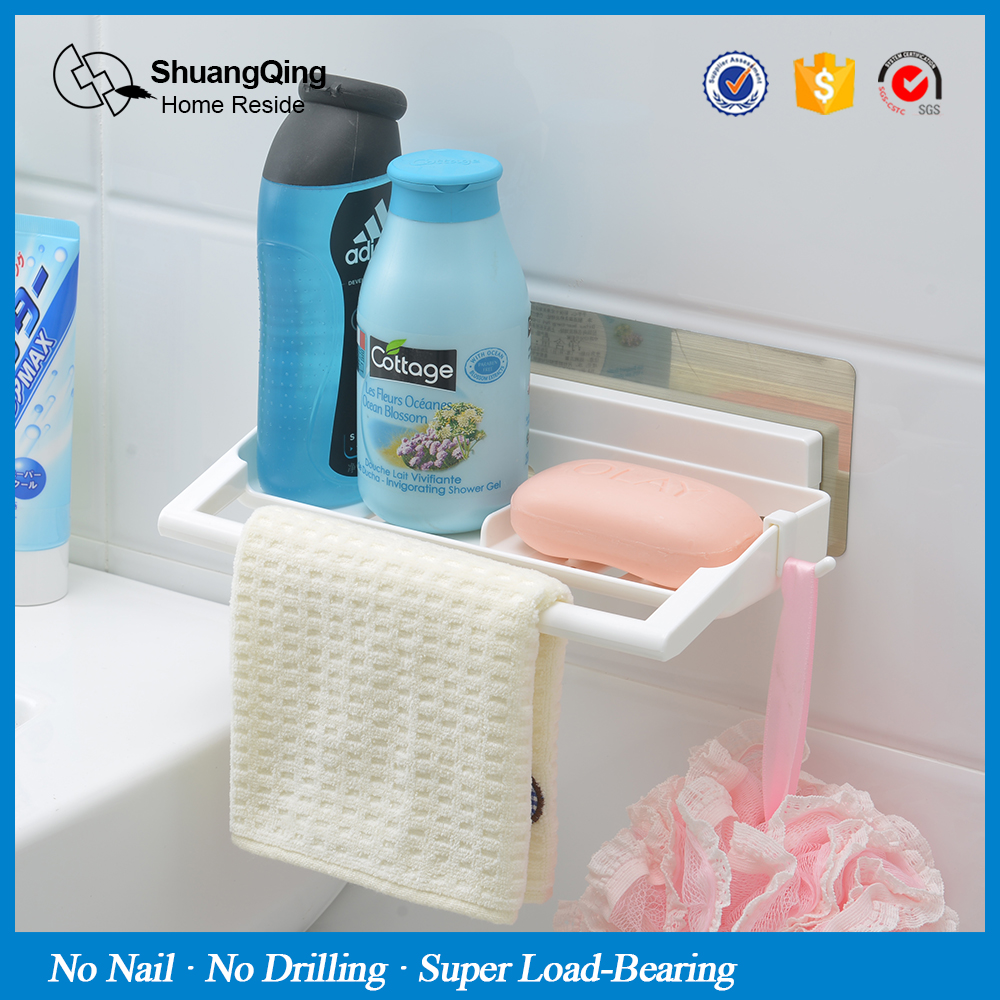 Magic Sticker Plastic Bathroom Kitchen Wall Mounted Multifunctional ...