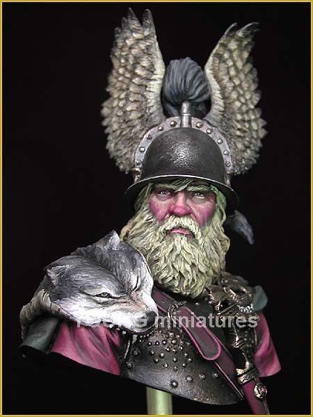 BC 6th century Scandinavian warrior public